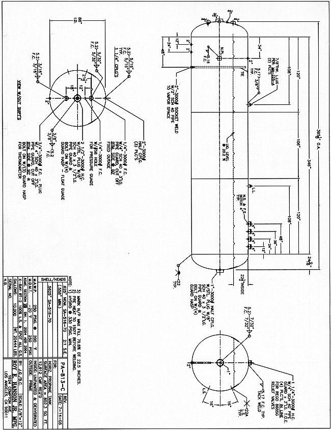 propane tank installation schematic