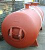400 gallon vertical water tank