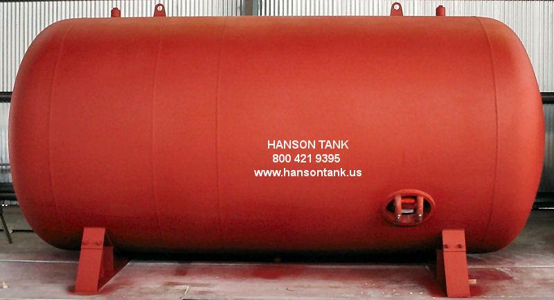 Epoxy Lined Horizonal Water Tank, specs, drawing WL878B, US made, Los ...