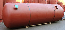 3000 gallon air storage tank AH-437-B