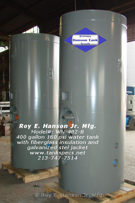 Water Tank Insulation : Wn b gallon epoxy lined vertical watertank